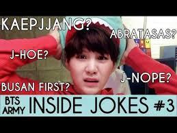 bts inside jokes
