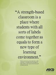 quote about a classroom different needs special needs
