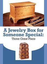 free jewelry box plans how to make a