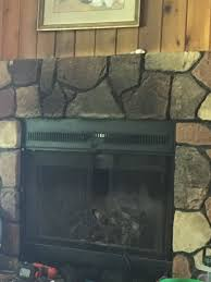 how to clean faux fireplace large