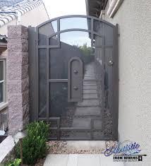 Iron Gates Las Vegas Residential Security Gates Gates Las Vegas 702 387 8688 Henderson North Las Vegas Verjas Disenos De Rejas Protectores De Ventanas