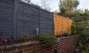 Bespoke Overlap Fence Panel Installation Wood Newt