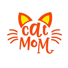 Amazon Com Custom Cat Mom Vinyl Decal Cute Cat Quote Sticker For Yeti Cup Tumbler Water Bottle Laptop Or Car Window Accessories You Choose The Size Color Handmade