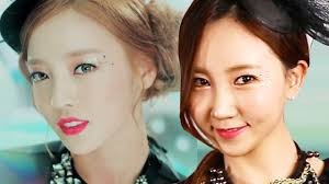 kpop idol makeup kara goo hara makeup