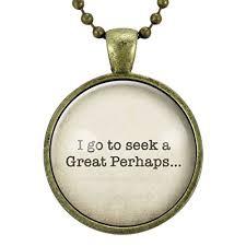 com i go to seek a great perhaps necklace graduation gift