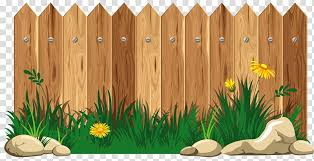 Picket Fence Cartoon Fence Transparent Background Png Clipart Hiclipart