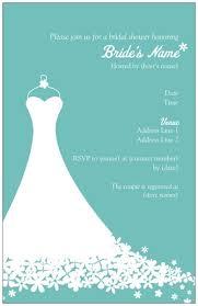bridal shower invitations bridal