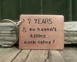 wedding anniversary copper gift