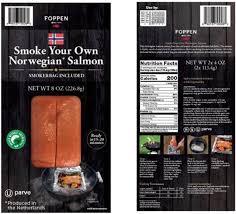 foppen norwegian salmon 8oz packs