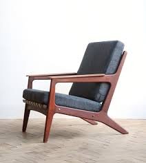 vine retro danish teak lounge arm