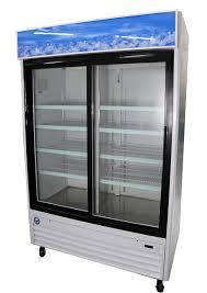 sliding glass door merchandiser cooler