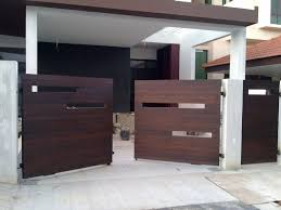 Modern Wooden Gate Designs For Homes Wooden Gate Designs House Gate Design Gate Design