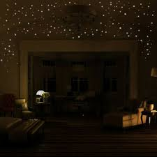 Glow In The Dark Star Wall Stickers 407pcs Round Dot Luminous Kids Room Decor Home Garden Children S Bedroom 3d Decor Decals Stickers Vinyl Art