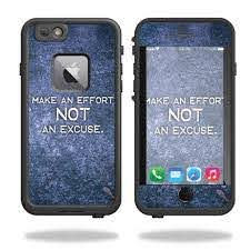 Skin Decal Wrap For Lifeproof Fre Iphone 6 Plus 6s Plus Case Make An Effort Walmart Com Walmart Com