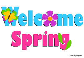 Image result for welcome spring clip art free