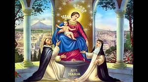La storia della Madonna di Pompei o Vergine del Santo Rosario