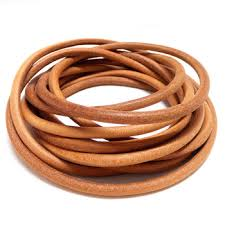 2mm 5mm 7mm round leather cord round