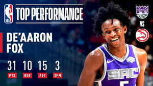 De'Aaron Fox Records His FIRST Career Triple-Double! | November 1, 2018 -  YouTube