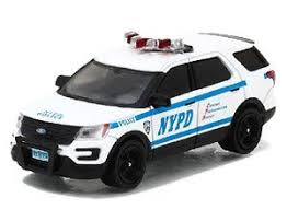 2016 Ford Interceptor Utility New York City Police Dept With Nypd Squad Number Decal Sheet Diecast Car Hobbysearch Diecast Car Store
