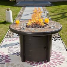 50000 btu propane fire pit table with