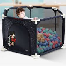 Baby Playpen Infants Playground Toddlers Indoor Play Fence 1 2 3 Kids Satety Gate 360 Degree Children Activity Center Barriers Gates Doorways Aliexpress