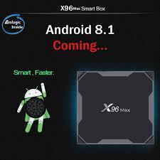 Nhà Máy Giá Rẻ Nhất X96MAX AmlogicS905x2 Android TV Box 2GB/4GB  16GB/32GB/64GB android 8.1 OTT Tivi Box|