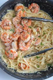 Creamy Shrimp Alfredo Pasta - (Video ...