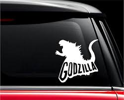 Godzilla King Of Monsters Decal Sticker For Car Cell Phone Laptop And More Ebay