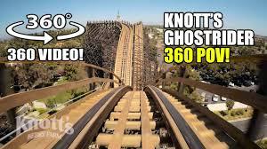ghostrider roller coaster 360 vr pov