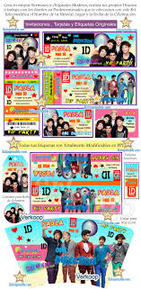 Kit Imprimible One Direction