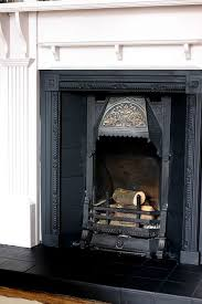 refresh an old victorian fireplace