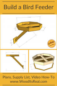 Project Time Diy Bird Feeder Wood It S Real Wood It S Real