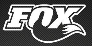 Fox Logo Vinyl Sticker Decal Car Window Mountain Bike Mtb Ebay