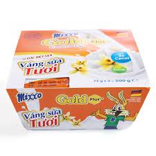 Váng sữa tươi Mixxo Gold 75g - Lốc 4