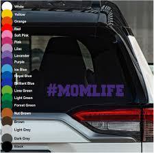 Momlife 3 Car Decal Crazy4decals