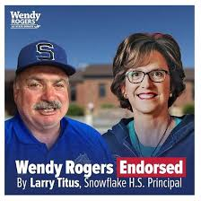 Wendy Rogers Accused Of Creating Fake Endorsements   Arizona Daily  Independent