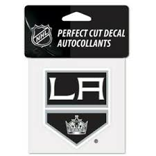 Los Angeles La Kings Vinyl Die Cut Decal 4 X4 Perfect For Windows Ebay