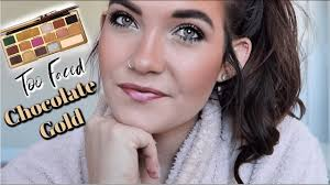 too faced chocolate gold tutorial