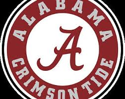 Alabama Crimson Tide Decal Etsy