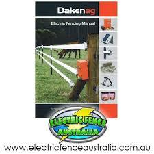 Daken Electric Fencing Manual Downloadable Pdf Electric Fence Australia