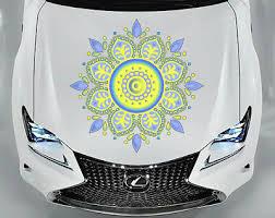 Mandala Car Vinyl Sticker Car Hood Full Color Sticker Graphics Decals H6 Ebay