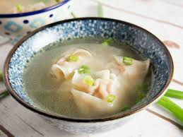 Easy wonton soup - Caroline's Cooking