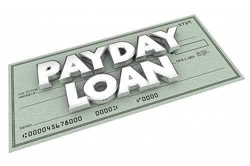 Payday loan relief