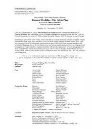STG Funeral Wedding SL Press Release - The Strange Tree Group