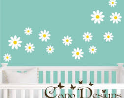 Daisy Wall Decal Etsy