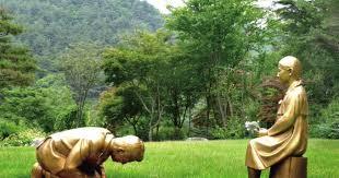 韓国 慰安婦像に対して安倍首相が土下座する銅像が造られる 「日本大使 ...
