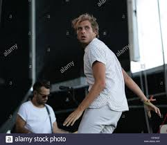 Las Vegas, NV, USA. 25th Sep, 2015. Aaron Bruno of AWOLNATION in ...