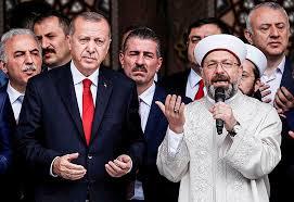 Erdogan soutient un ecclésiastique islamiste critiqué pour avoir ...