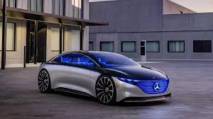 2019 mercedes benz vision eqs concept