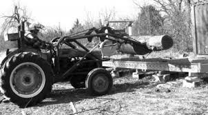 lumber with a portable sawmill
